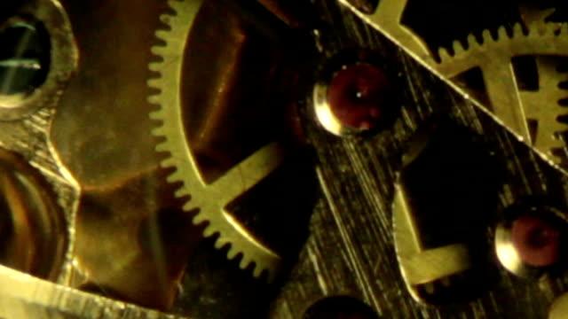 Clock Detail - Inside Slow Motion E