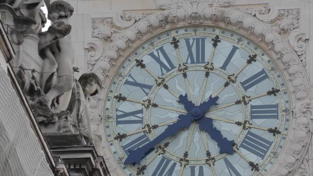 Clock Face, Gare de Lyon, Paris, France, Europe