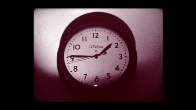 1979 clock hand going fast - time stock videos & royalty-free footage