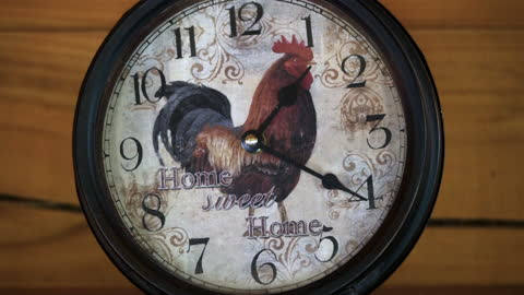 clock hand moving backwards, home sweet home slogan - home sweet home stock videos & royalty-free footage