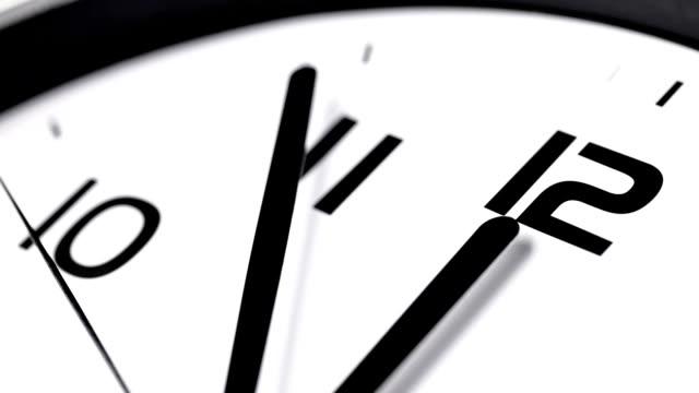 vídeos de stock, filmes e b-roll de relógio de última hora - meia noite