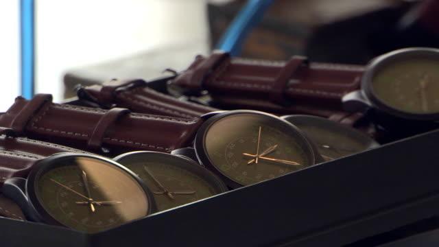クロックマクロ - 腕時計点の映像素材/bロール