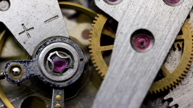 clock mechanism - pocket watch stock videos and b-roll footage