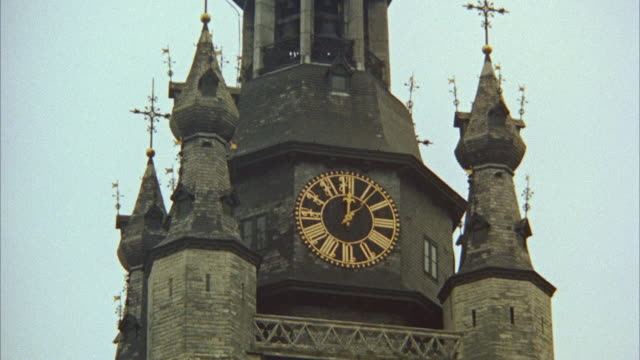 MS ZI  Clock on bell tower