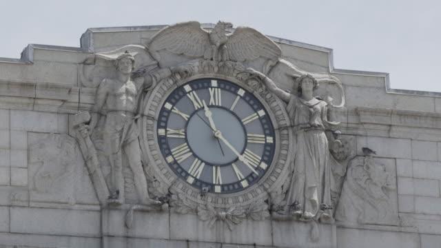 Clock on Penn Station Baltimore, Maryland