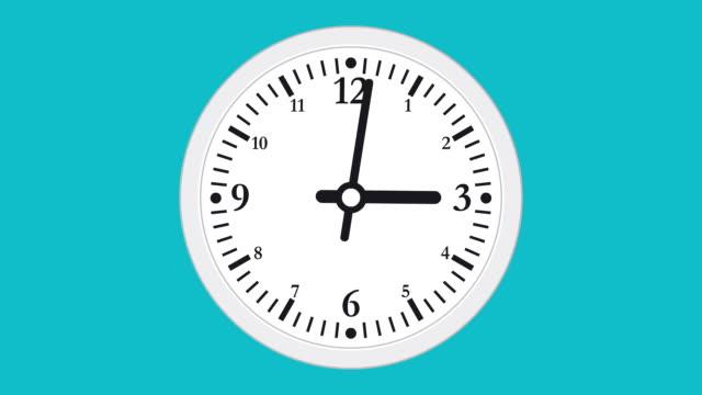 Clock Or Timer Time lapse Illustrative Cinemagraph