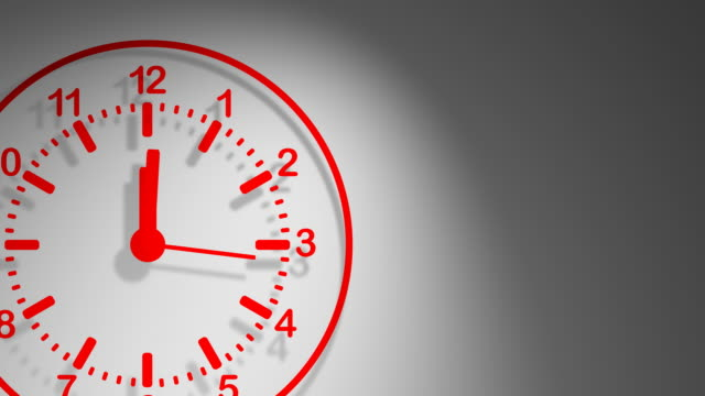 clock red 24 hours - 24 hrs stock videos and b-roll footage