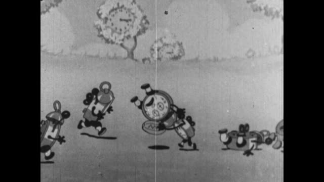 a clock suffers an injury when attempting a touchdown - 1934 stock videos & royalty-free footage