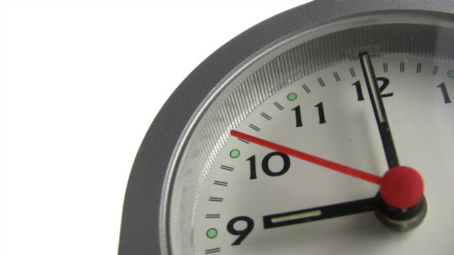 Clock ticking zu neun
