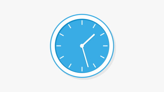 clock time concept, clock time lapse. - deadline stock videos & royalty-free footage