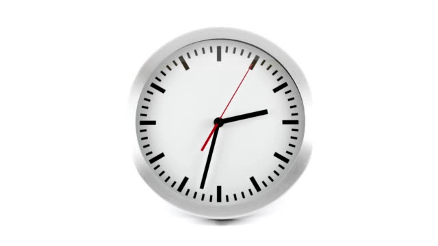 clock time lapse - clock face stock videos & royalty-free footage