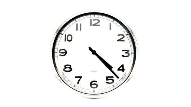 clock time lapse - clock hand stock videos and b-roll footage