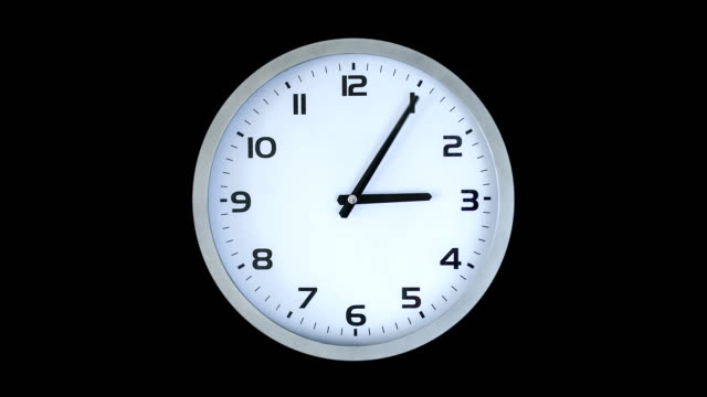 clock time lapse - clock stock videos & royalty-free footage