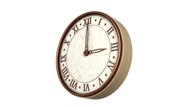 clock time lapse with luma matte loopable - pocket watch stock videos & royalty-free footage