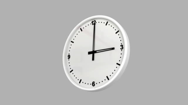 clock time lapse with luma matte - number 12 stock videos and b-roll footage