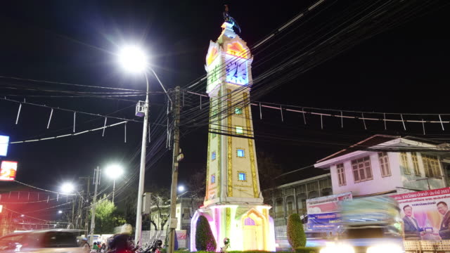 clock tower night