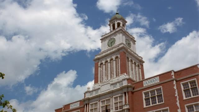 vídeos y material grabado en eventos de stock de la  clock tower of east high scool  denver  colorado  usa - usa
