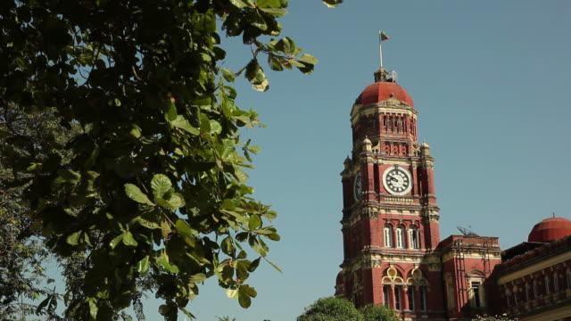 WS Clock tower / Rangoon, Yangon, Myanmar