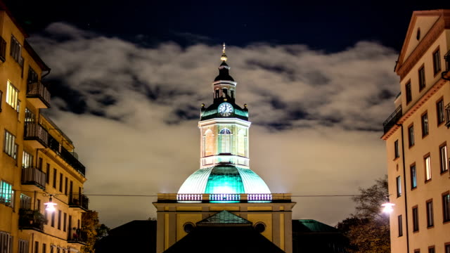 clock tower time lapse - steeple stock videos & royalty-free footage