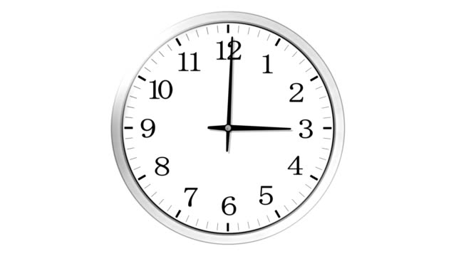 clock. - single object stock videos & royalty-free footage