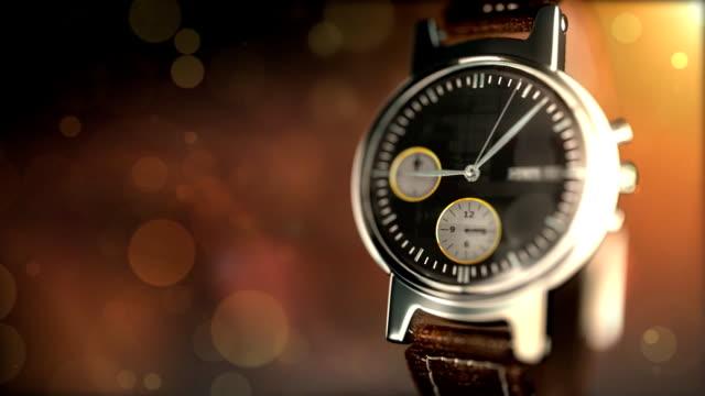 vídeos de stock, filmes e b-roll de - relógio - relógio de pulso