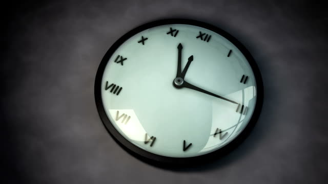 clock - analog stock videos and b-roll footage