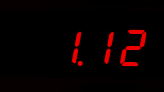 clock - digital clock stock videos & royalty-free footage