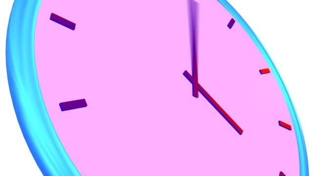 HD clock #2 white background