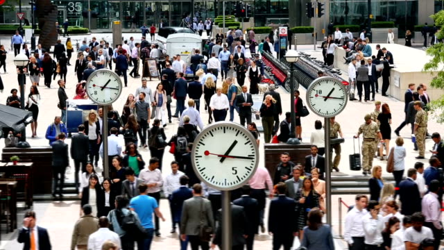 clocks in london, time lapse - lunch stock videos & royalty-free footage