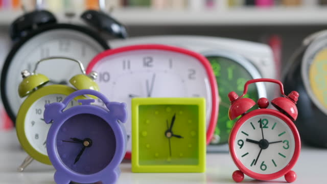 clocks time lapse - large group of objects stock videos & royalty-free footage