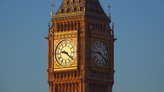 clocktower big ben, london, england, united kingdom - roman numeral stock videos & royalty-free footage