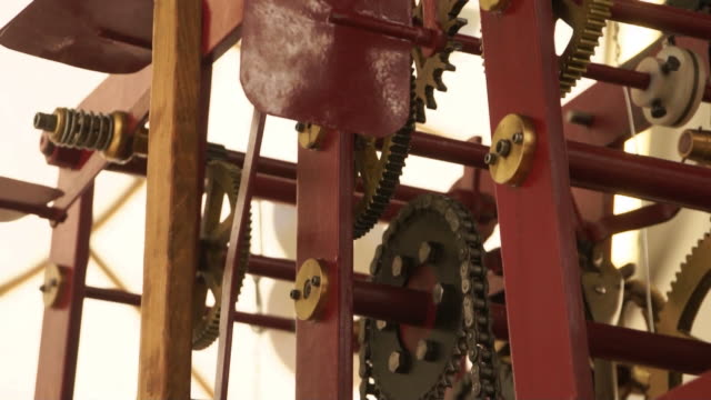 clockwork from tower bell. - bell tower tower stock videos and b-roll footage