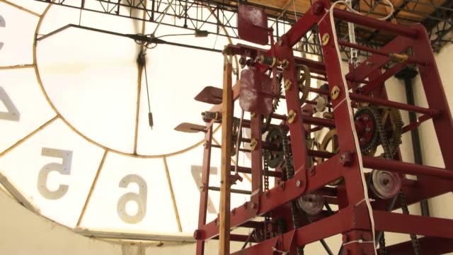 Clockwork from tower bell.