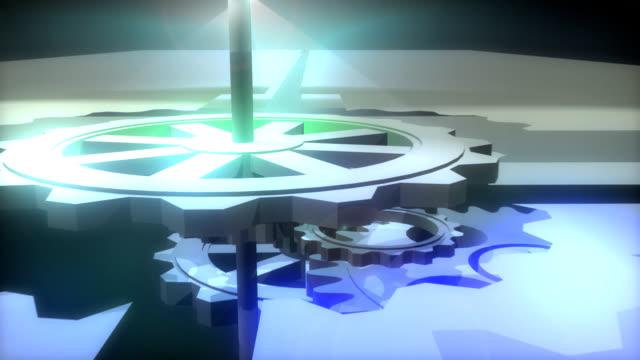 clockwork / gear wheels - clockworks stock videos & royalty-free footage