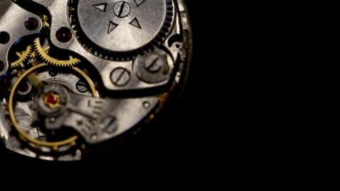 stockvideo's en b-roll-footage met clockwork gears werkt - kostbare edelsteen