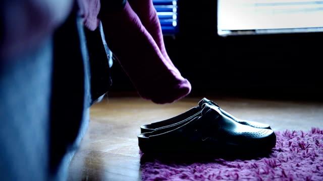 Holzschuhe Schuh