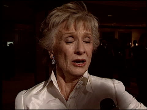 cloris leachman at the 2004 writers guild awards at the century plaza hotel in century city, california on february 21, 2004. - century plaza stock videos & royalty-free footage