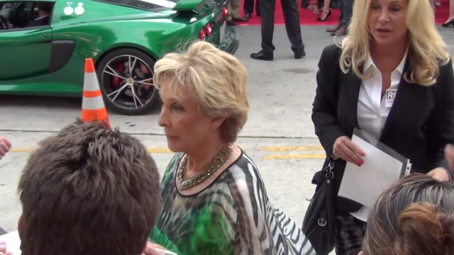 Cloris Leachman greets fans at the Westwood Village Theatre in Westwood 07/11/13 Cloris Leachman greets fans at the Westwood Villag on July 11 2013...