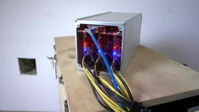 A close look at an ASIC Bitcoin Mining computer