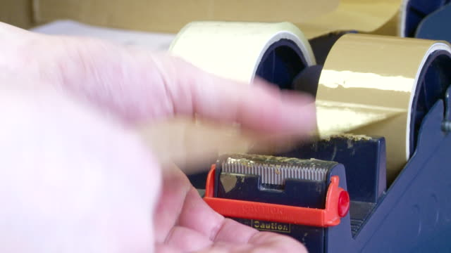 Close on Pulling Tape