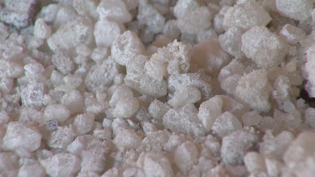 Close Shot Of DeIcing Salt