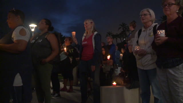 KSWB Close to 1000 peaceful demonstrators gathered for a unity vigil in front of the San Diego County Administration Building in the largest of...