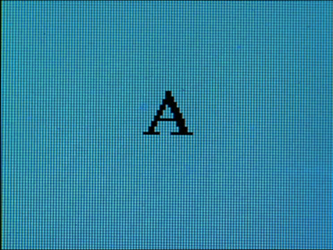 "close up ""achieve"" being typed on computer screen - western script stock videos & royalty-free footage"