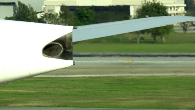 close up airplane engine - airplane part stock videos and b-roll footage