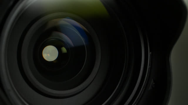 close up camera lens focusing - optical instrument stock videos & royalty-free footage