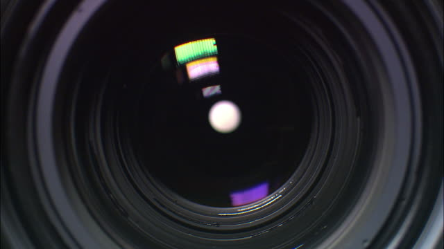 Close up camera lens focusing