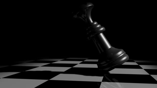 close up checkmate - chess piece stock videos & royalty-free footage