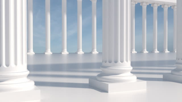 close up columns | loopable - column stock videos & royalty-free footage