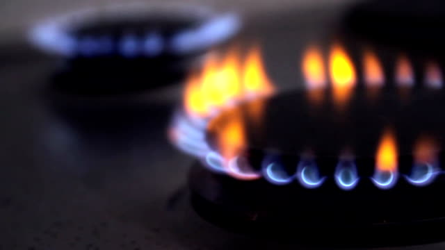close up cooking stove - stove stock videos & royalty-free footage