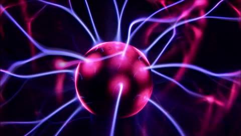 close up core of plasma ball/ washington state - plasma ball stock videos & royalty-free footage